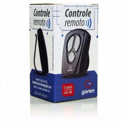 Controle Remoto Garen 433,92 Mhz Para Portão Eletrônico