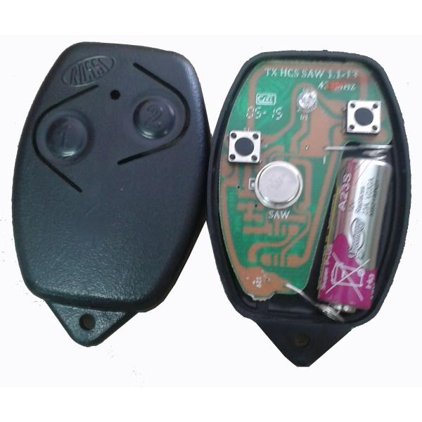 Controle remoto Rossi 433mhz rolling code Hcs