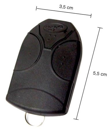 Controle remoto transmissor Mini Tok 433,92 Mhz - PPA  - Esferatronic Comercio e Distribuição