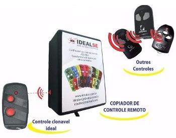 Copiador P/ Controle Remoto Ideal 433Mhz Regravável