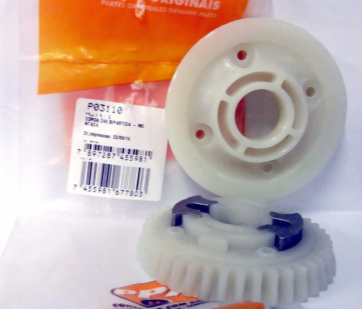 Coroa interna Z40 Bipartida para motor deslizante industrial PPA