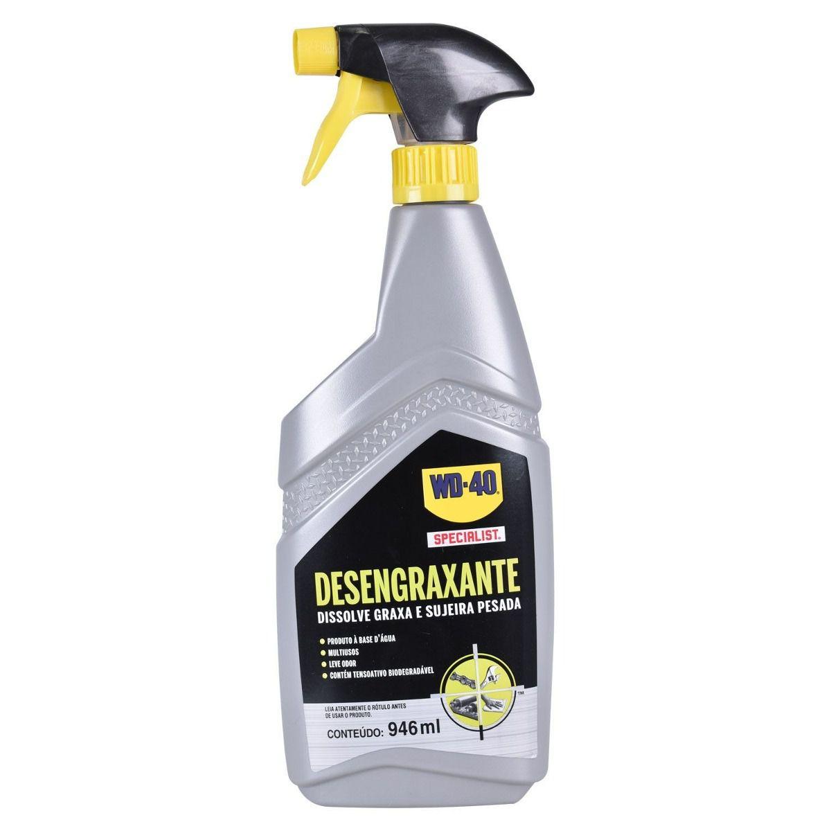 Desengraxante Spray Para Limpeza Pesada 946ML - WD-40