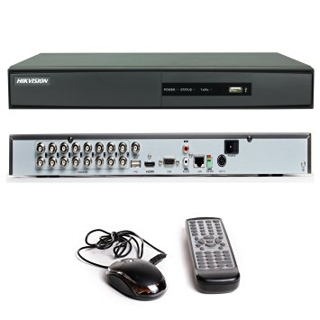 Dvr Hikvision 16 Ch. Turbo Hd 3.0 Pentaflex 5x1 Imagem Hd 720p