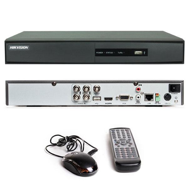 Dvr Hikvision 4 Ch. Turbo Hd 3.0 Pentaflex 5x1 Imagem Hd 720p