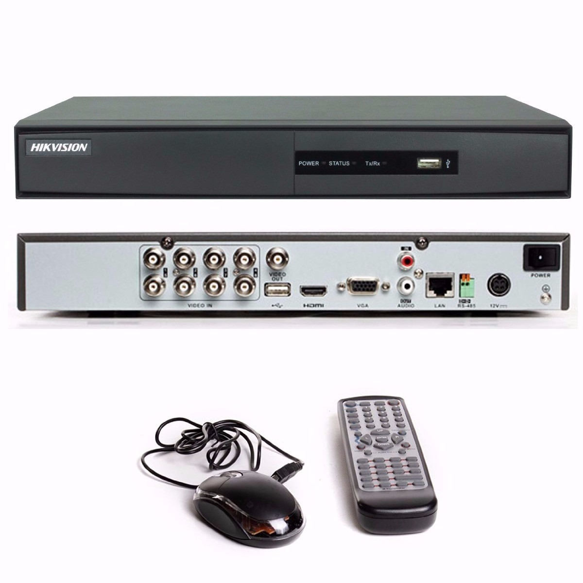 Dvr Hikvision 8 Ch. Turbo Hd 3.0 Pentaflex 5x1 Imagem Hd 720p