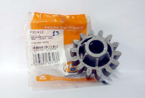Engrenagem externa Dz Home e DZ Rio Z14 alumínio (jateada) PPA