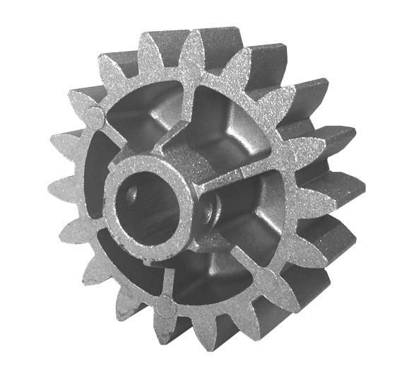 Engrenagem externa Dz Rio Z18 alumínio (jateada) PPA
