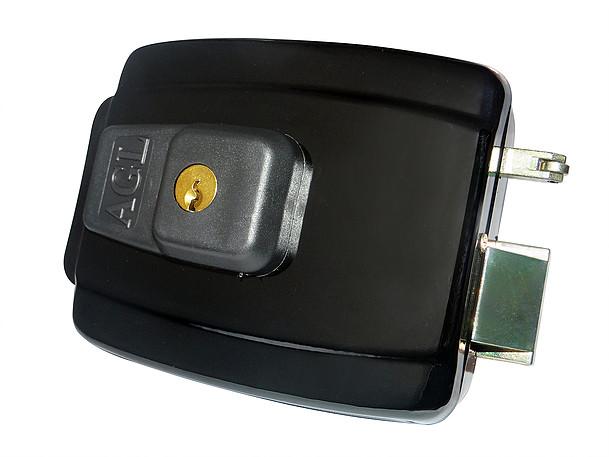 Fechadura elétrica AGL 12 volts AL100 invertida (Abre para Fora)  - Esferatronic Comercio e Distribuição