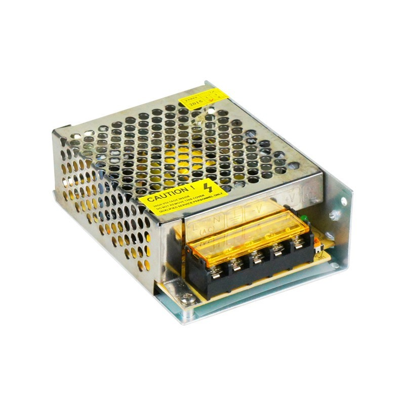 Fonte Chaveada Estabilizada 12V 5A Colméia, Bivolt 110v/220v Ideal para CFTV
