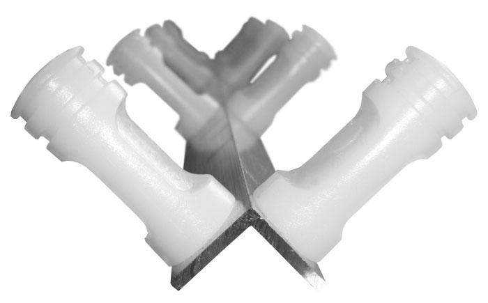 Haste cantoneira de alumínio com 8 isoladores para cerca elétrica - Confiseg  - Esferatronic Comercio e Distribuição