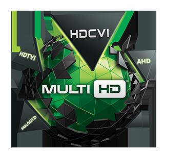 Kit 2 Câmeras de Segurança Bullet Multi HD Intelbras VHD1010 G4 + DVR Intelbras MHDX1008 + Acessórios