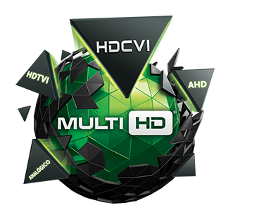 Kit 2 Câmeras de Segurança Dome Multi HD Intelbras VHD1010 G4 + DVR Intelbras 8 canais MHDX1008 + Acessório