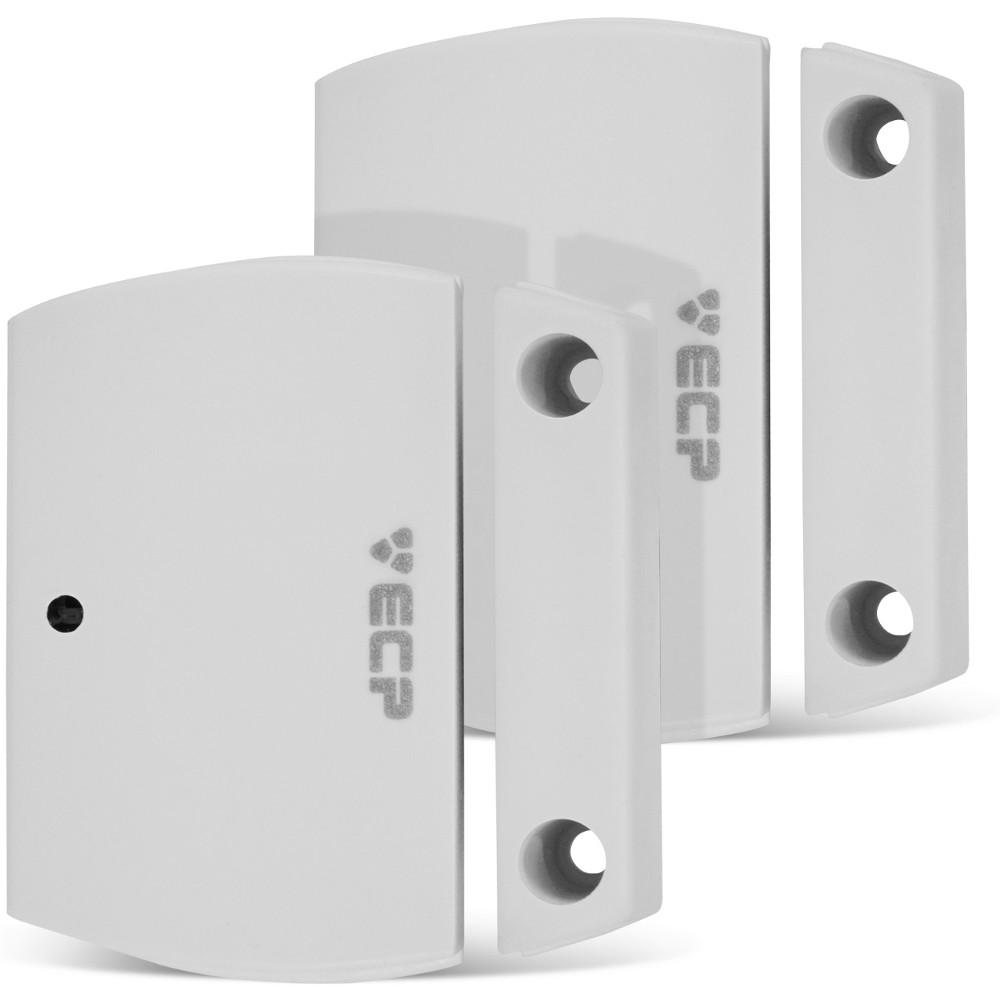 Kit Alarme Ecp Alard Max 4 com discadora + 3 sensores Sem Fio