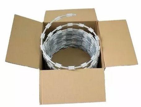 Kit Cerca concertina Galvalume 45cm - Faz Até 10m de instalação