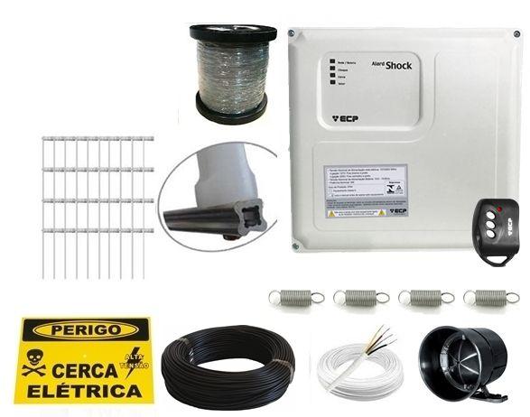 Kit cerca elétrica para 30 metros Alard Shock control ECP