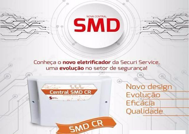 Kit cerca elétrica para 30 metros GCP 10.000 SMD CR - Securi Service