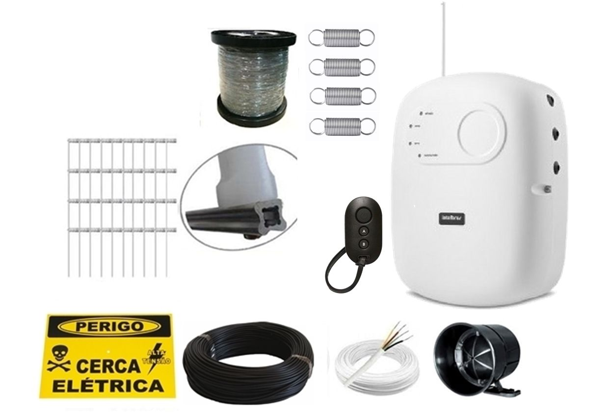 Kit cerca elétrica para 30 metros High Power Elc 5002 Intelbras