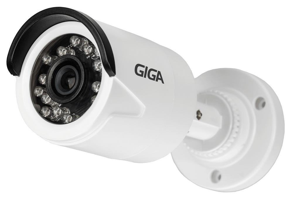 Kit 4 Câmeras de segurança FULL HD 1080p + DVR 16 Canais Giga GS16OPEN4Mi2 Multi HD + Acessórios