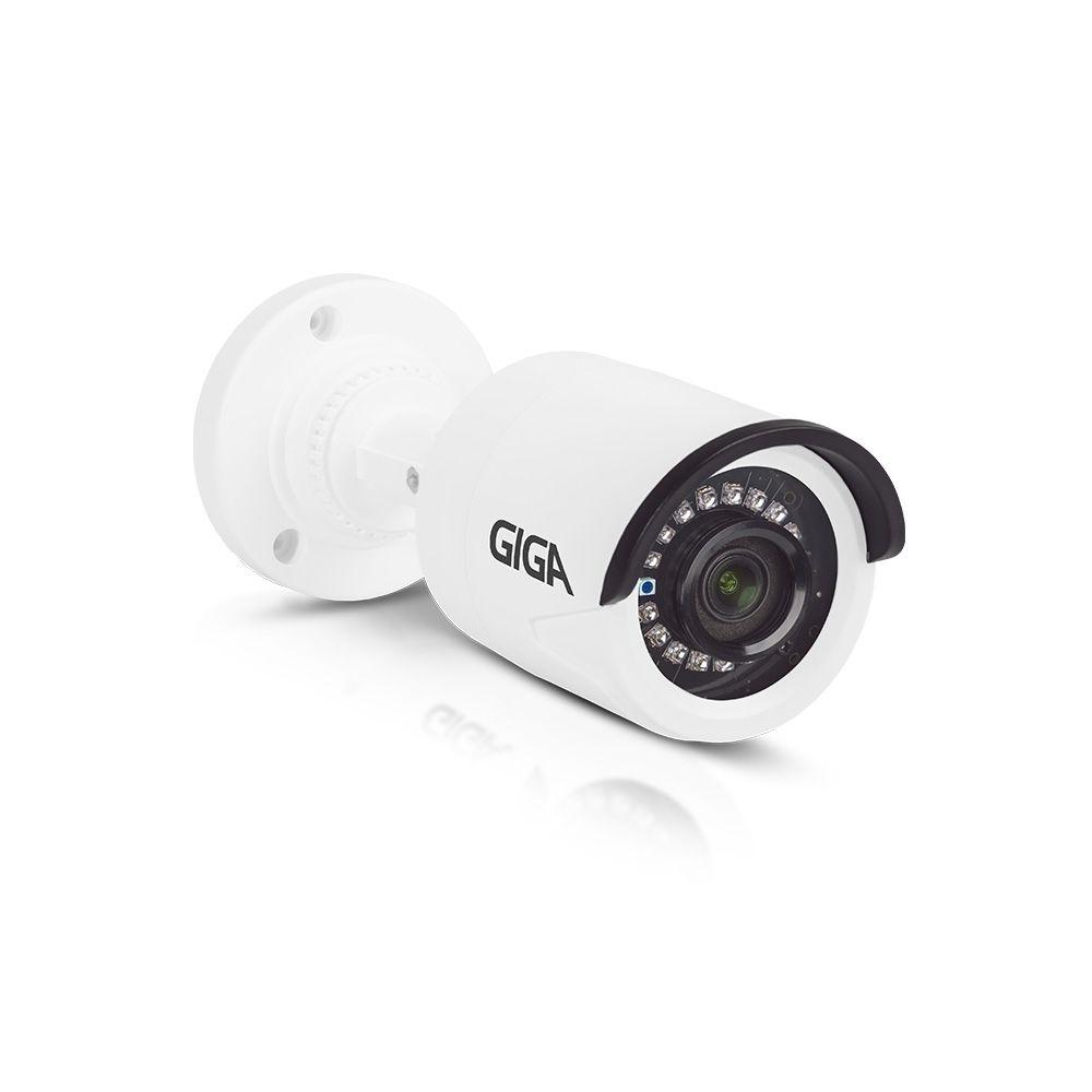 Kit DVR 16 Canais Giga FULL HD + 4 Câmeras de segurança Bullet Sony super Starvis FULL HD 30M GS0055 + Acessórios