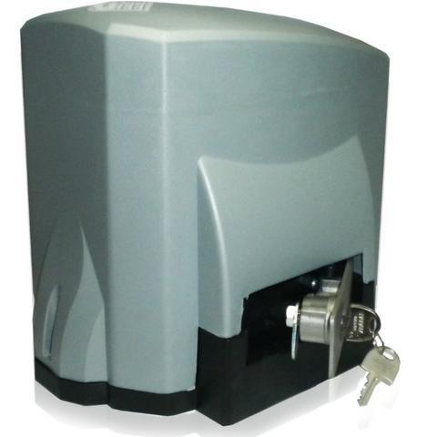 Kit motor portão deslizante Titan Combat 1/4 hp Unisystem  - Esferatronic Comercio e Distribuição