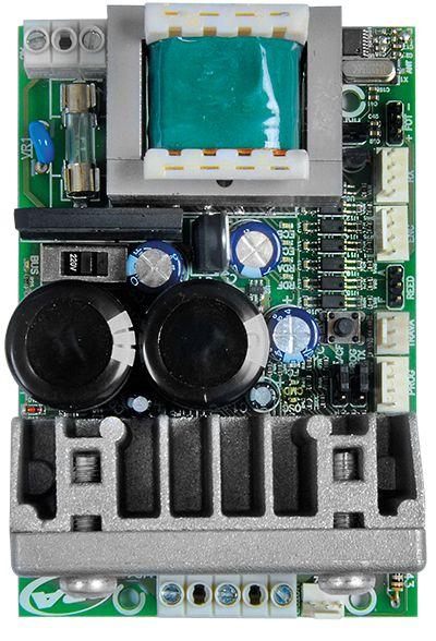 Kit motor portão eletrônico basculante BV Home Robust 1/4 Hp jetflex Facility bivolt PPA