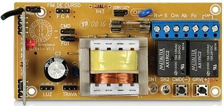 Kit motor portão eletrônico basculante BV Home 1/4 Hp - marca PPA  - Esferatronic Comercio e Distribuição