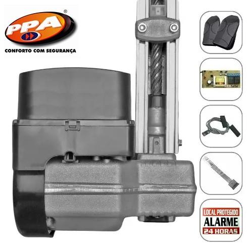 Kit motor portão eletrônico basculante levante 1/4 hp - marca PPA