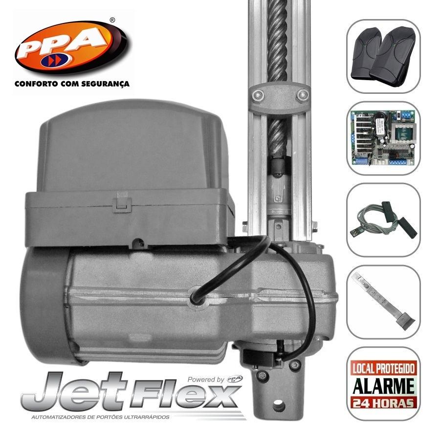 Kit motor portão eletrônico basculante penta Predial jetflex bivolt 1/2 Hp (Fim de curso Híbrido) - marca PPA