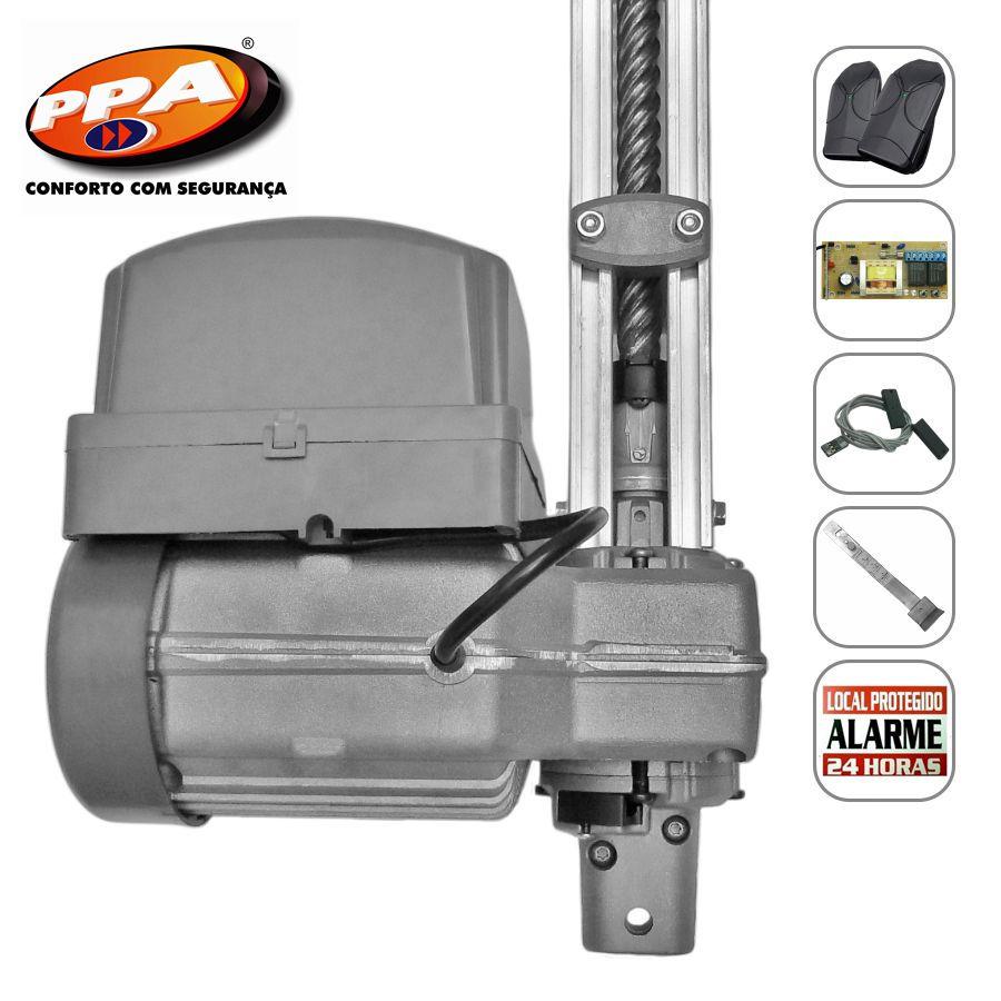 Kit motor portão eletrônico basculante Penta Predial Robust 1/2 Hp Analógico(POP) PPA