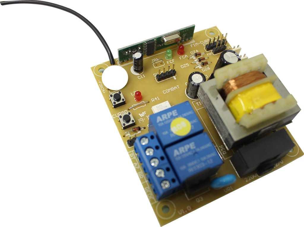Kit motor portão eletrônico basculante pillar price 1/4 hp Unisystem