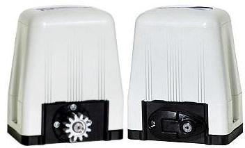 Kit motor portão eletrônico deslizante DZ4 SK 1/3 hp Rossi