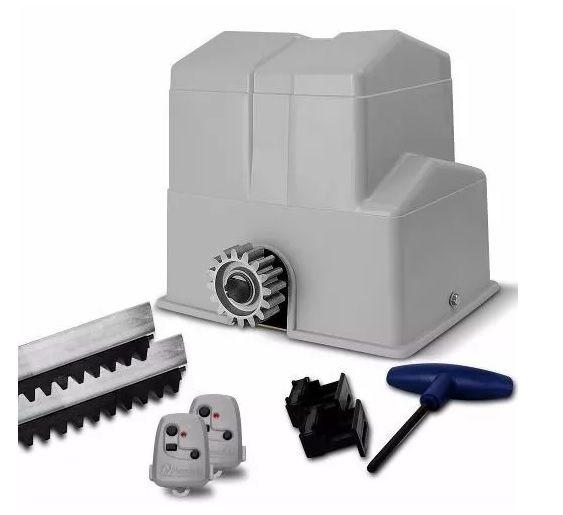 Kit motor portão eletrônico deslizante Super semi-industrial 1/2 hp Peccinin