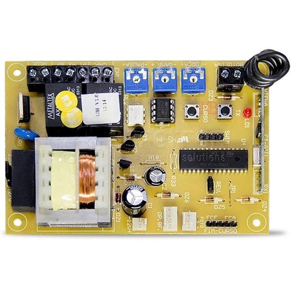 Kit motor portão eletrônico deslizante veloz titan 500 1/4 hp Unisystem  - Esferatronic Comercio e Distribuição
