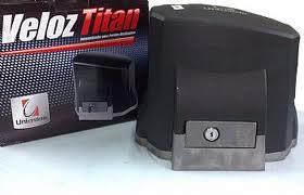 Kit motor portão eletronico deslizante veloz titan speed 1/3 hp - Unisystem