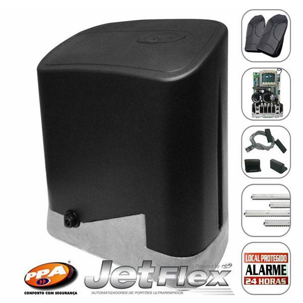 Kit Motor Portão eletrônico DZ Home Jetflex Facility 1/4hp Ultra Rápido