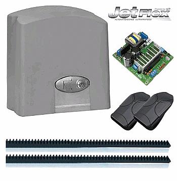 Kit motor portão eletrônico DZ predial Jetflex Bivolt 1/2hp PPA