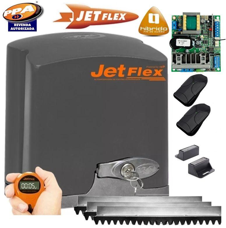 Kit motor portão eletronico DZ Rio turbo jetflex Bivolt 1/2 hp (Ultra-rápido) - marca PPA