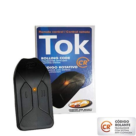 Kit motor portão eletrônico DZ Rio turbo KL custom analógico (pop) 1/4hp PPA
