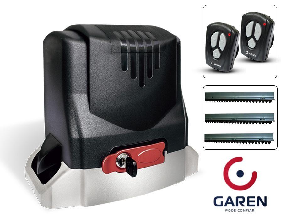 Kit Motor Portão eletrônico rápido DZ Niid Garen Bivolt