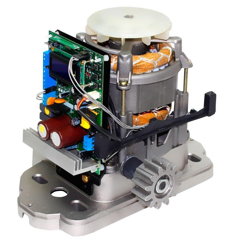 Kit Motor Portão eletrônico Semi-industrial 1/2hp DZ TSI Speed Garen Bivolt