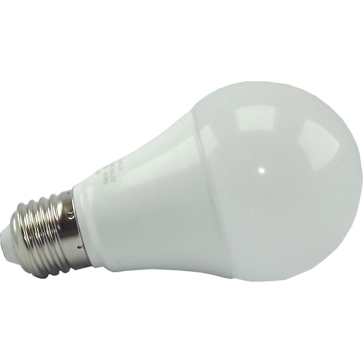 Lâmpada Super Led 11w Bulbo A60 6500K Branco frio E-27 Bivolt - L&D  - Esferatronic Comercio e Distribuição