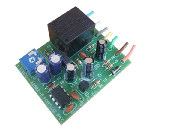 Modulo temporizador luz garagem universal - Ipec