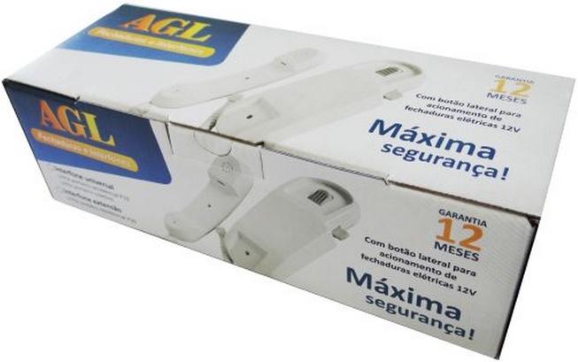 Monofone Universal para porteiro eletrônico AGL P10