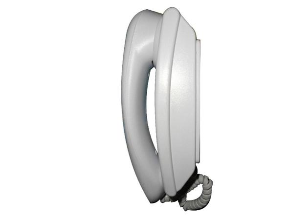 Monofone universal para porteiro eletrônico LR 2010 branco - Lider  - Esferatronic Comercio e Distribuição