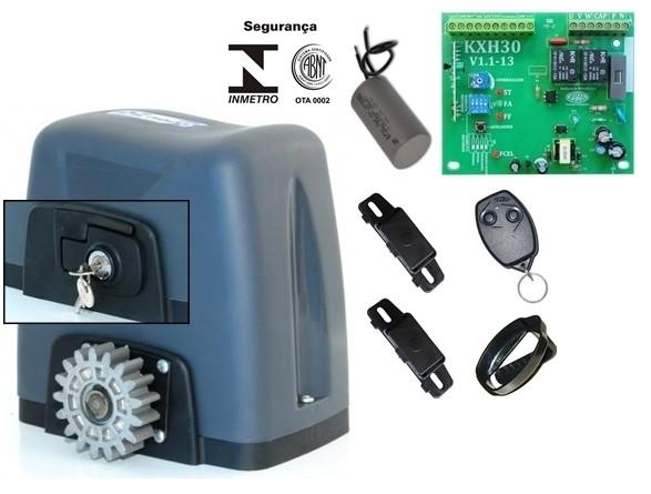 Motor de portão eletrônico DZ nano turbo 1/4 hp Rossi