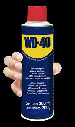 Óleo Densegripante WD-40 300ML Lubrificante Multiuso