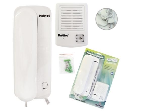 Porteiro eletrônico home plug - Multitoc
