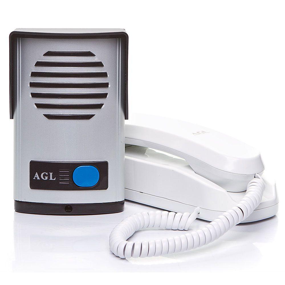Porteiro Eletrônico Interfone residencial P200 AGL em ABS bivolt c/ saída 12v