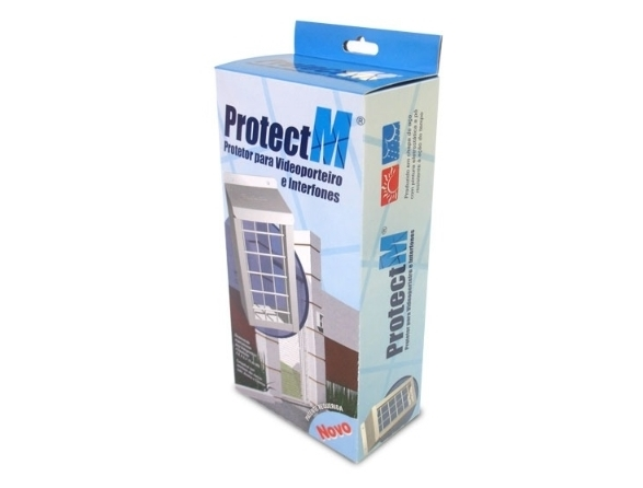 Protetor Grade proteção para vídeo porteiro e interfone - ProtectM