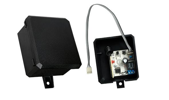 Receptor para portão eletrônico Alcance 433Mhz - PPA  - Esferatronic Comercio e Distribuição